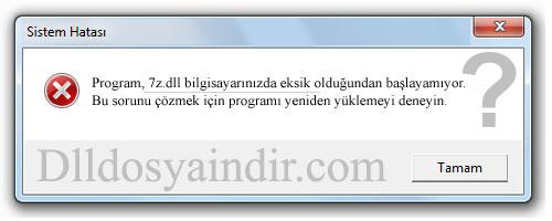 7z.dll - DLL Dosya İndir