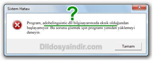 adobelinguistic.dll - DLL Dosya İndir
