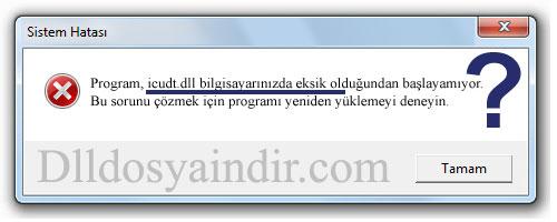 icudt.dll - DLL Dosya İndir