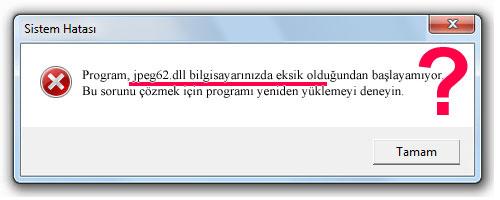 jpeg62.dll - DLL Dosya İndir