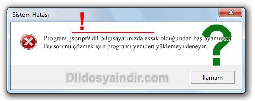 jscript9.dll - DLL Dosya İndir