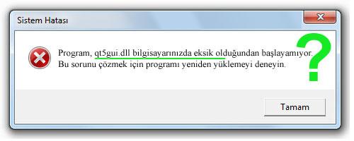 qt5gui.dll - DLL Dosya İndir