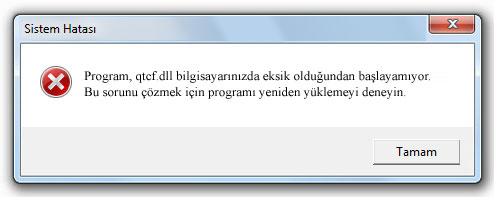 qtcf.dll - DLL Dosya İndir