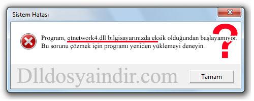 qtnetwork4.dll - DLL Dosya İndir