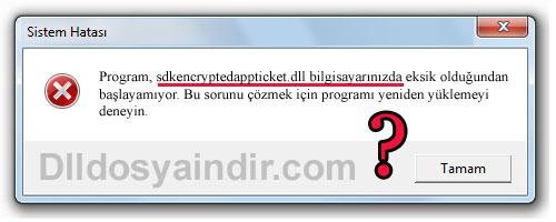 sdkencryptedappticket.dll 32 bits