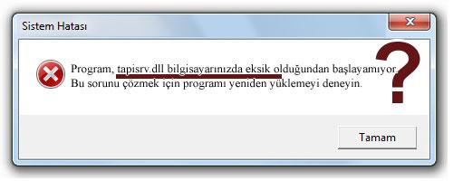 tapisrv.dll - DLL Dosya İndir