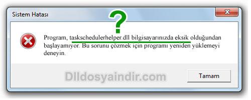 taskschedulerhelper.dll - DLL Dosya İndir