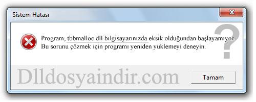 tbbmalloc.dll - DLL Dosya İndir