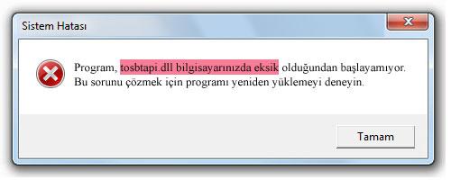 tosbtapi.dll - DLL Dosya İndir