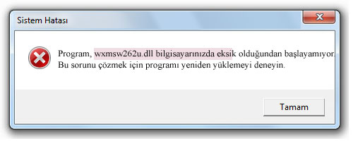 wxmsw262u.dll gratuit